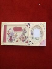 Classic floral photograph album and cards