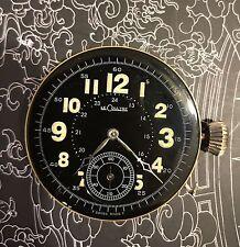 High Grade Chronometer Lecoultre Quarter Minute Repeater Pocket Watch Movement!