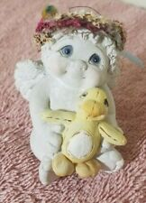 Dreamsicles 1997 Cast Art Industries Just Ducky Pal Cherub Angel Figurine 10341