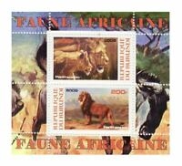 African Animals -  Sheet of 2  - 2J-011