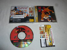 SEGA SATURN JAPANESE IMPORT GAME OUTLAWS OF THE LOST DYNASTY W CASE & MANUAL