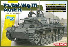 Dragon #6844 WWII German 1/35 Pz.Bef.Wg.III Ausf. H (Smart Kit)