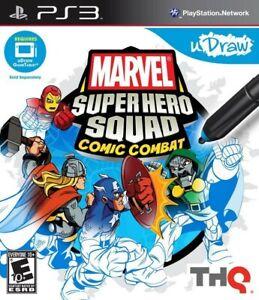 Marvel Super Hero Squad: Comic Combat - Playstation 3 Game
