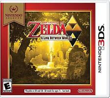 The Legend of Zelda: A Link Between Worlds (Select) 3DS New Nintendo 3DS, Ninten