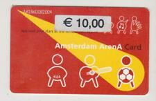 Amsterdam Arena Card 2001 Applaud your stars at the Amsterdam ArenA AA1860082004
