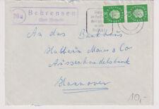 BUND, Mi. 303 MeF, Landpoststpl. Behrensen ü Hameln, 30.5.61
