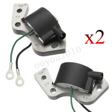 2 PCS Ignition Coil For Outboard Johnson Evinrude 580184 582463 584477 582995