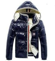 Mens Winter 90% Duck Down Hooded jacke Thick snow Jacket down Coat Puffer Parkas