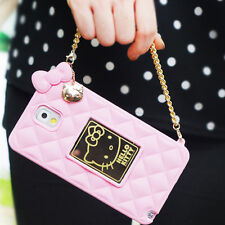 Genuine Hello Kitty Mirror Bag Case iPhone 6/6S Case iPhone 6/6S Plus Case Soft