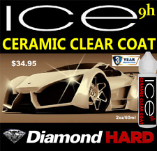 NANO 9H CERAMIC CAR COATING SEALANT POLISH SYNTHETIC WET LOOK LIQUID GLASS SHINE