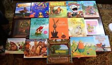 Set of 15 HBPB Fairy Tales and Fables Brer Rabbit, Billy Goats, Tortoise Hare L9