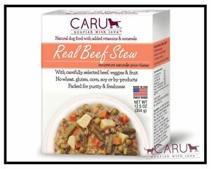 Caru Dog Stew Real Beef 12.5oz.( Eaches) Free Shipping