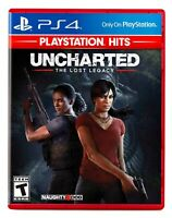 Uncharted The Lost Legacy PS4 BRAND NEW SEALED Sony PlayStation 4 Hits Free Ship