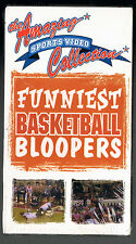 THE AMAZING SPORTS VIDEO COLLECTION~FUNNIEST BASKETBALL BLOOPERS[VHS-1996]SEALED
