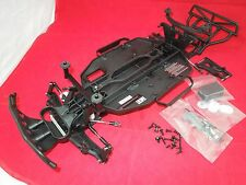 Traxxas Slash MONSTER ENERGY EDITION black Chassis parts lot roller 2wd vxl xl-5