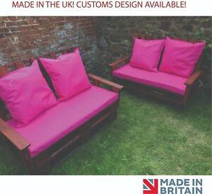 Rattan Seat Pads Cushion Cover Garden Furniture Waterproof Outdoor Chair Bench