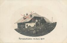 Nr.18689 Privat Foto PK Bruck a.d.Mur  Kerstockhütte 1914 Steiermark