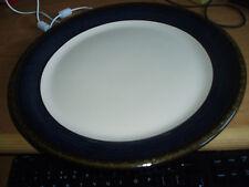 Molto grande piatto da portata BHS BRECON BLUE MODELLO 33cm in buonissima condizione