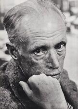 1949 Vintage 16x20 SINCLAIR LEWIS Novelist Playwright Writer By PHILIPPE HALSMAN
