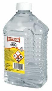 Tetrion White Spirit Clean Brushes & Paint Spills Thinner - 2 Litre