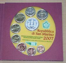 KMS San Marino 2007 Original Kursmünzensatz
