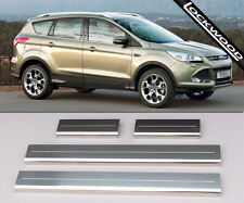 Ford Kuga MK2 (released approx. 2013), Stainless Sill Protectors / Kick Plates