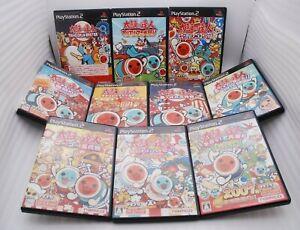 PS2 Taiko no Tatsujin 10Games Set 3 4 5 6 7 tatacon Haru Anime Matsuri Japan