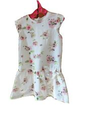 GIRLS PETIT BATEAU SUMMER DRESS DESIGNER 12-18 MONTHS.
