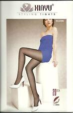 Sexy gemusterte  Strumpfhose 20 DEN schwarz  free size 8306