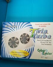 twin turbo dual 9cm fans/80cfm