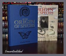 On the Origin of Species by Charles Darwin New Deluxe Hardcover in Slipcase Gift