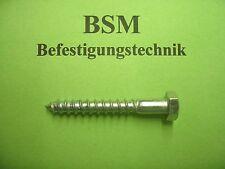50 St. Schlüsselschrauben/Sechskantholzschrauben DIN 571 verz. 6x40 mm NEU