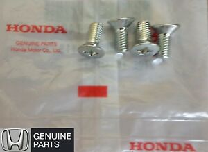 NEW OEM Honda Brake Rotor Screw (FOUR) Fits Accord Civic CRV Fit Pilot Odyssey