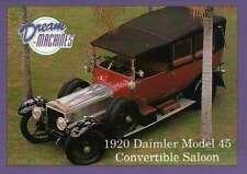 1920 Daimler Model 45, Imperial Palace C Las Vegas Car Trading Card Not Postcard