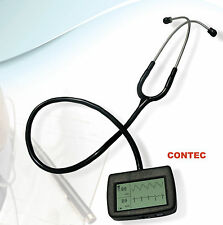 Multi-function electronic stethoscope+ ECG + spo2 CMS-M