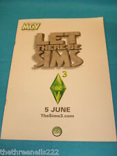 MCV MAGAZINE - LET THERE BE SIMS - THE SIMS 3 - MAY 22 2009