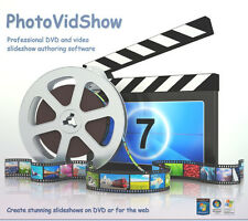PhotoVidShow (2018 edition), Photo DVD slideshow maker software, Windows 10/8/7