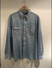 Men's Ralph Lauren Denim Shirt Xl