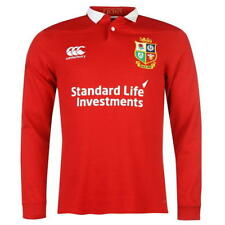 NEW + TAGS * CANTERBURY * RED LIONS CLASSIC LONG SLEEVE RUGBY TOP SIZE M RRP £65