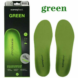 The Premium Superfeet Green Insoles Professional-Grade High Arch Orthotic Insole