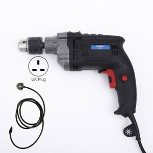 2000W HEAVY DUTY 13MM VARIABLE SPEED CORDED ELECTRIC HAMMER DRILL 230V