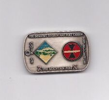 Challenge Coin 7th Infantry Division Commanding General  Ft. Carson