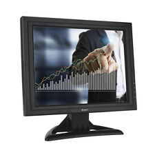 "15"" inch TFT LCD Touch Screen Monitor VGA For POS Stand Restaurant Karaok Retail"