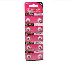 Lot of 10pcs AG4 377A 377 LR626 SR626SW SR66 LR66 376 Alkaline Watch Battery