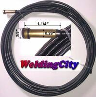 "MIG Welding Gun Liner 44-3035-15 15-ft 030-035"" for Lincoln 300-400A Tweco #3-#4"