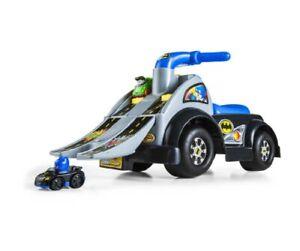 Fisher-Price Little People Wheelies Batman Raceway Ride-On/raceway Ramp/Race Car
