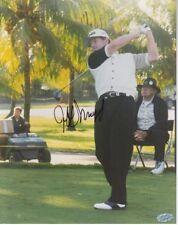 Jeff Maggert signed 8x10 PGA Golf  Photo - Mounted Memories Hologram