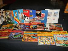 Matchbox Collector's Guides 1966-1990 25 Total Nice collection!