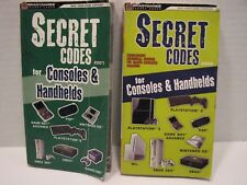 Book Bundle: Secret Codes Cheats for Video Game Consoles Handhelds by BradyGames