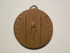 Italy Fascist medal 6th cruise Budapest 1932 opera Balilla